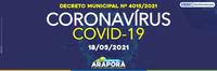 Decreto Municipal nº 4015/2021 - 18/05/2021
