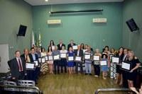 Entrega de Título Cidadão Honorário de Araporã-MG em 06/11/2019
